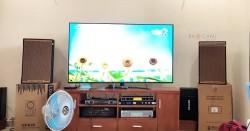 Dàn karaoke của gia đình anh Hùng ở Thủ Đức, HCM (Martin KTWO12, SAE TX2400, JBL KX180, BCE UGX12 Gold)
