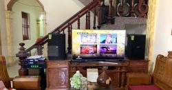 Dàn karaoke Domus gia đình anh Giang ở Thái Bình (Domus 6120, SAE TX650Q, DMX DK-6000pro)