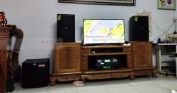 Dàn karaoke Domus gia đình anh Long ở Hóc Môn (Domus 6100, Alto TS312, SAE TX650Q, DSP-9000, BCE UGX12)
