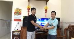 Dàn karaoke Domus gia đình anh Quang ở Phước Tân, Biên Hòa (Domus 6100, SAE TX2400, DSP-9000, BCE UGX12)