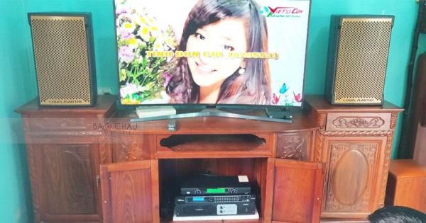 Dàn karaoke gia đình anh Thanh ở Gia Lâm, Hà Nội (Martin KTWO10, Famous 3206, DSP-9000, U900 PlusX)