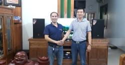 Dàn karaoke JBL cho gia đình anh Quỳnh ở Thái Bình (JBL MTS12, JBL A120P, Crown KVS700, DMX-DK 6000 Pro, UGX12 Plus)