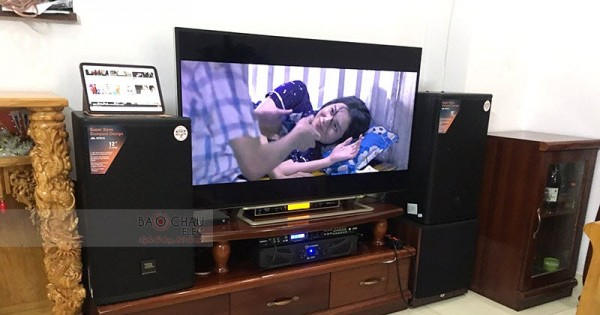 Dàn karaoke JBL gia đình anh Hiển ở Biên Hòa (JBL MTS12, JBL A120P, Xli2500, DMX-Dk 6000 Pro, UGX12 Gold)