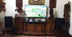 Dàn karaoke JBL gia đình chú Quyết ở Lê Đức Thọ, HN (JBL KP4012, Famous 7208, JBL KX180, BBS B900)