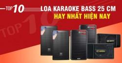 Top 10 loa karaoke bass 25 cm hay nhất hiện nay