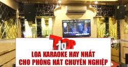 Top 10 loa karaoke cho phòng hát chuyên nghiệp hay nhất 2020