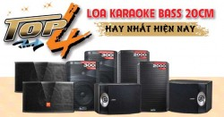 Top 4 loa karaoke bass 20cm hay nhất hiện nay