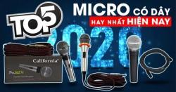 Top 5 Micro có dây hay nhất hiện nay