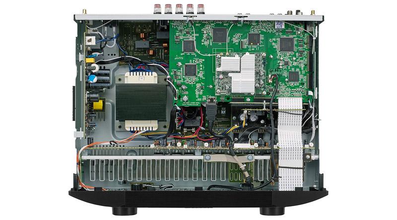 Amply AV Receiver Marantz NR1510 linh kiện cao cấp, tính năng vượt trội