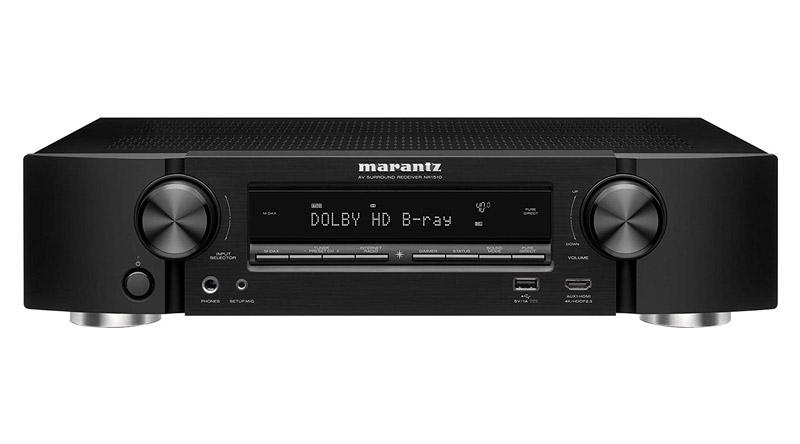 Amply AV Receiver Marantz NR1510 hiện đại, cao cấp