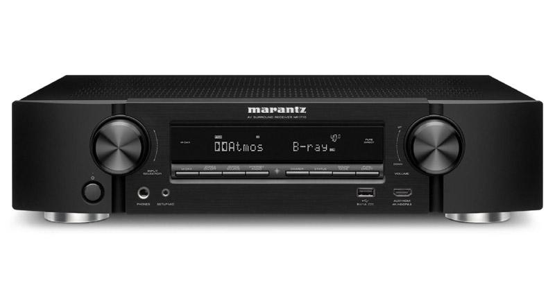 Amply AV Receiver Marantz NR1710 hiện đại, chính hãng