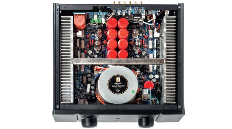 Hệ thống linh kiện của Amply đèn Unison Research Unico 150