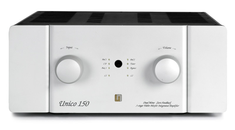 Mặt trước Amply đèn Unison Research Unico 150