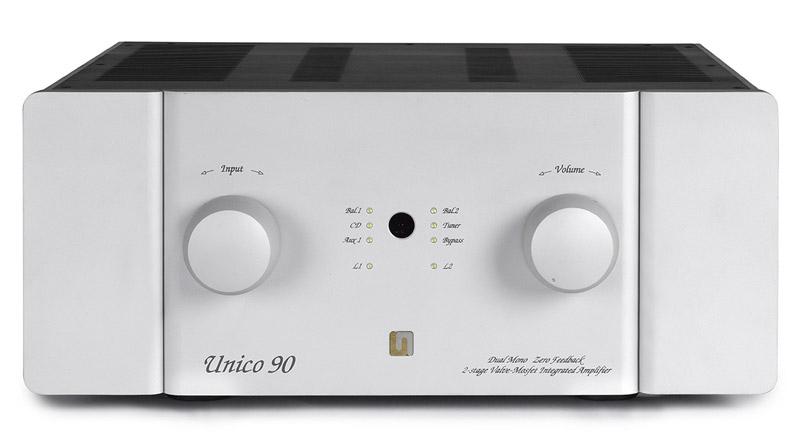 Amply đèn Unison Research Unico 90 thiết kế đơn giản