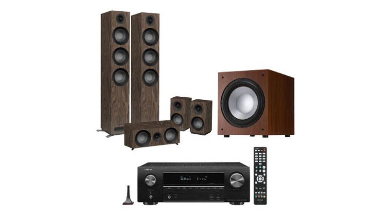 Dàn âm thanh 5.1 xem phim, nghe nhạc BC-XPNN27 (Jamo S809 HCS+Denon X1600H+Jamo J12)