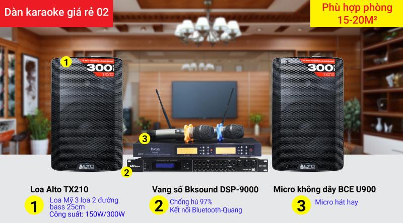 Dàn karaoke giá rẻ 02