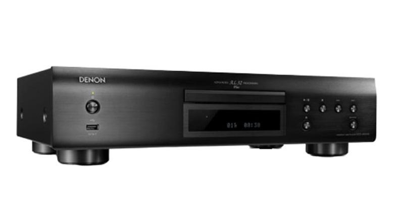 Đầu CD Denon DCD-800NE mặt nghiêng