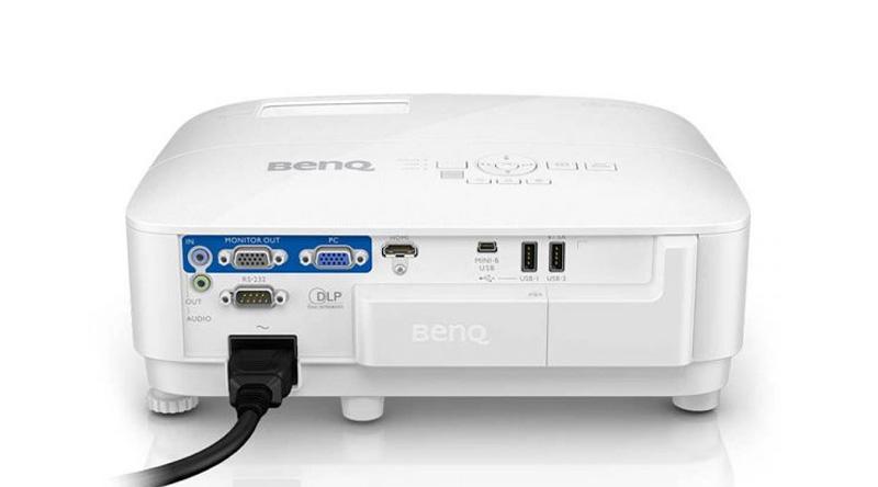 Máy chiếu BenQ EH600 mặt sau