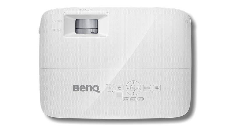 Máy chiếu BenQ MW550 mặt trên