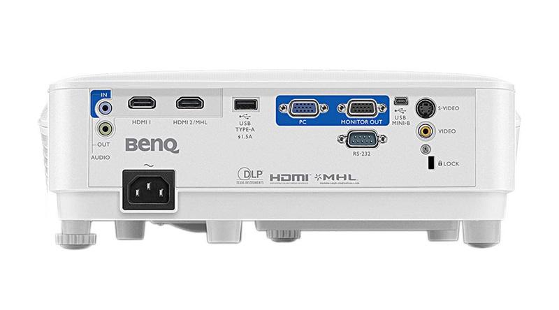 Máy chiếu BenQ MW612 mặt sau