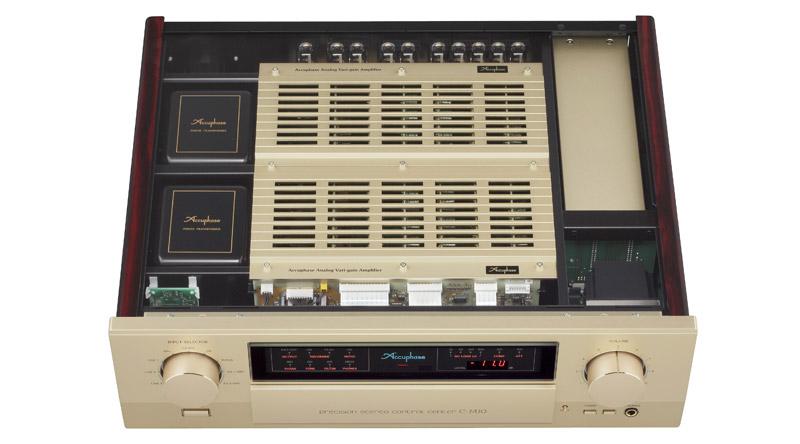 Pre Ampli Accuphase C2420 linh kiện hiện đại