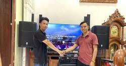Dàn karaoke cao cấp của gia đình anh Đẳng ở Ninh Kiều (PRX 415M, PRX418S, BIK VM840A, JBL KX180, BCE UGX12)