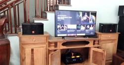 Dàn karaoke gia đình anh Đình Anh ở Bắc Kạn (JBL CV1652T, BW 604No8, BIK BJ_A88, BCE U900)