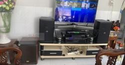 Dàn karaoke gia đình anh Huyền ở Đồng Tháp (Domus 6100, BW 604No8, BCE 6200, DSP-9000, Hanet 1TB, U900 PlusX)