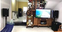 Dàn karaoke gia đình anh Vũ ở Quận 7, Hồ Chí Minh (PRX 415M, PRX418S, SAE TX800Q, AAP K9800, UGX12 Plus Luxury)