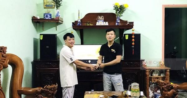 Dàn karaoke gia đình anh Xuân ở Biên Hòa, Đồng Nai (Domus 6120, Jamo J12, Bksound DP8000)