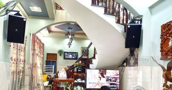 Dàn karaoke gia đình anh Xuân ở Bình Chánh (JBL KP4012, Alto TS312, Crown KVS700, BCE DP9200+)