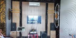 Lắp đặt dàn karaoke gia đình cho chị Bá ở Vũng Tàu (JBL KP4010,BIK VM 640A,DMX DK-6000 Pro,Viet KTV, BCE UGX 12 Plus Luxury)