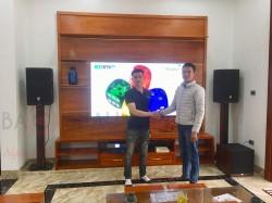 Lắp đặt dàn karaoke JBL cho anh Thọ tại Hưng Yên (JBL PRX412M,Crown KVS500,APP K9800,JBL A120PWAS,VIET KTV,BCE VIP 3000)