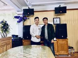 Dàn karaoke JBL anh Đại ở Thái Bình (JBL CV1052T, JBL PRX 415M, AAP TD8004,K9800,PRX 418S,JBL VM300)
