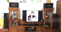Dàn karaoke, nghe nhạc của gia đình anh Hà ở Lào Cai (BIK 886II, SAE CT3000, DSP-9000, BCE U900, RP5000F, PMA-800NE)