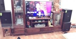 Lắp dàn karaoke cho gia đình chị Hường ở Đền Lừ (Domus DP6120, BW 604No8, SAE Duo700, 6000 Pro, BCE UGX12)