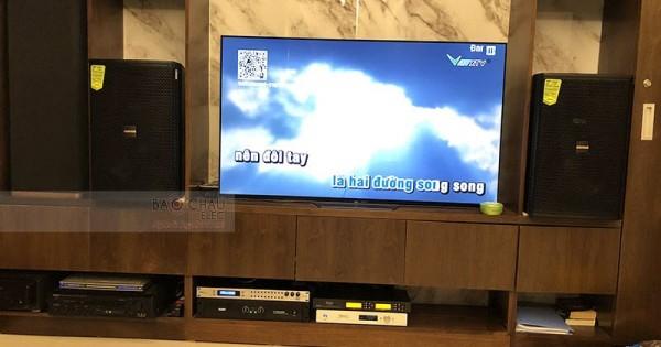 Lắp đặt dàn karaoke gia đình anh Hưng ở Hà Đông (Domus 6120, Jamo J12, SAE CT6000, DSP-9000, BCE U900, Plus 4TB)