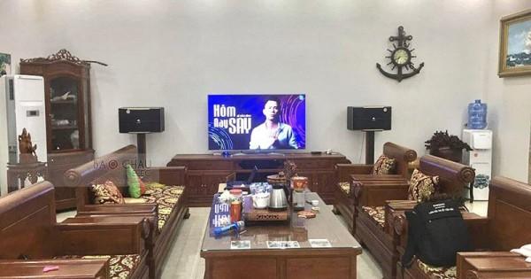 Lắp đặt dàn karaoke gia đình anh Nha ở Bắc Ninh (Pasion 12, JBL A120, Xli2500, DP9200+, UGX12 Luxury)