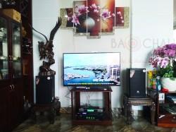 Lắp đặt dàn karaoke JBL cho anh Tuấn tại TPHCM (JBL MTS10, SAE TX650Q, BKSound DSP-9000, BCE UGX12)