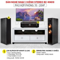 Dàn nghe nhạc 2 kênh Stereo BC-NN09