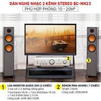 Dàn nghe nhạc 2 kênh Stereo BC-NN23 (Monitor Audio 200+ Denon PMA 800NE)