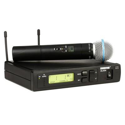 Bộ micro Shure ULXS24/BETA58 (1micro)
