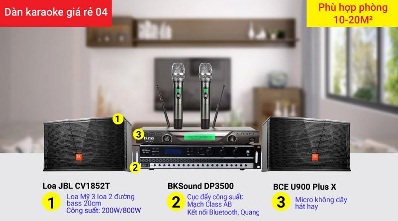 Dàn karaoke giá rẻ 04