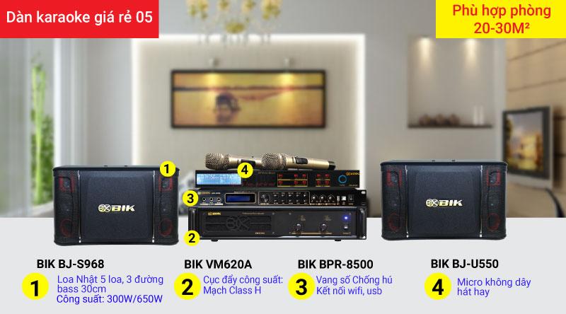 Dàn karaoke giá rẻ 05