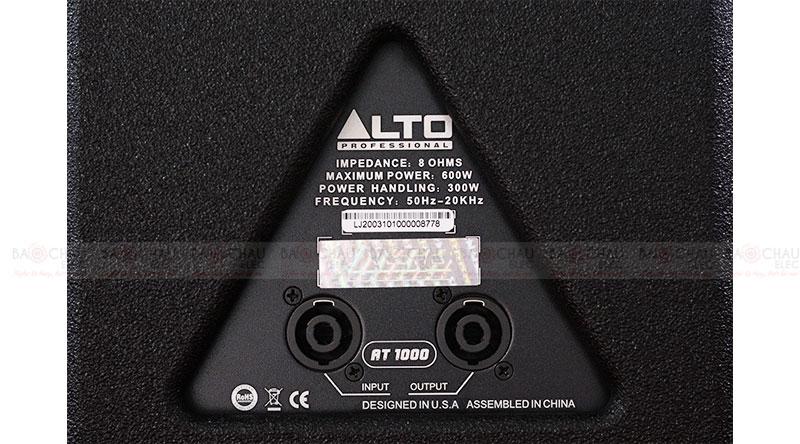Loa karaoke Alto AT1000