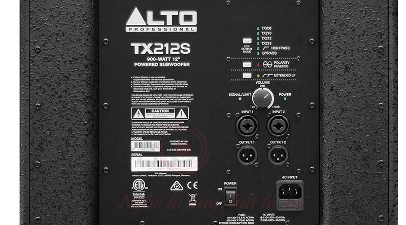 Loa sub Alto TX212S