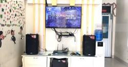 Dàn karaoke gia đình anh Cường ở Nam Sách, Hải Dương (Alto TX215, Alto TX212, DSP-9000, U900 PlusX)