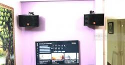 Dàn karaoke gia đình anh Dương ở Xuân Đỉnh, Hà Nội (JBL CV1252T, JBL A120P, SAE TX800Q, BPR-8500, UGX12 Luxury)