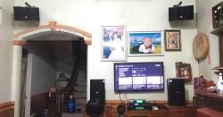 Dàn karaoke gia đình anh Hải ở Tiên Du, Bắc Ninh (BIK BSP 410, JBL CV1052T, Alto TX212S, SAE TX650Q, DP9200+, UGX12)