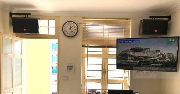 Dàn karaoke gia đình anh Hiếu ở Trường Chinh (JBL CV1052T, Bksound DP3500, U900 PlusX, LS3000)